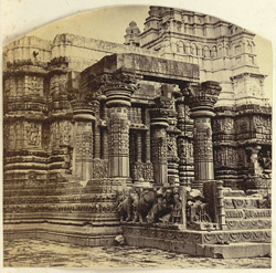 [View of part of a temple at] Aonda